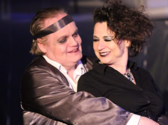 TiG spielt Hamlet mit der Schauspielerin Ursula Gumbsch